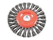 Forney Industries 6 Twist Knot Wheel 72749