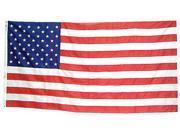 Casket Flag, 5x9 1/2 Ft, cotton