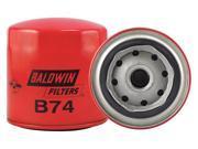 Baldwin Filters Oil Filter, Spin-On Filter Design  B74 9SIA5D52J88879