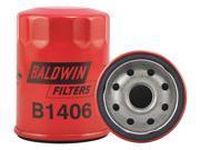 "BALDWIN FILTERS B1406 Oil Fltr,Spin-On,3-1/2""""x2-11/16""""x3-1/2"""" G1859210"" 9SIV0HA4SF5898"