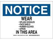 Notice Sign, Brady, 128941, 7