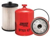 BALDWIN FILTERS BF7929 KIT Fuel Filter, 6-25/32 x 4-5/16 x 6-25/32In 9SIV0HA3J54887