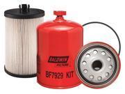 BALDWIN FILTERS BF7929 KIT Fuel Filter, 6-25/32 x 4-5/16 x 6-25/32In 9SIA5D52PK1555