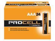 Duracell AAA Standard Battery, Duracell Procell, Alkaline, PK24   PC2400BKD