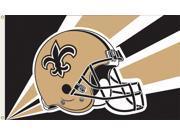 New Orleans Saints NFL Helmet Design 3'x5' Banner Flag 9SIA8BP3002931