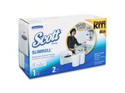 Scott Slimroll White Towel Starter Set - 1 KT/CT