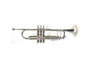 Barrington Model TR210S Student  Bb Trumpet in Silver