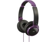 JVC Riptidz On Ear Cushioned Headphones, Violet