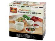 LaCuisine 18pc Microwave Cookware Set KTMW18