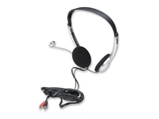 Manhattan Stereo Headset with Microphone and In Line Volume Control