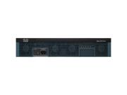 Cisco 2921 Integrated Service Router - 3 Ports - Management Port - 12 Slots - Gigabit Ethernet - Redundant Power Supply - 2U - Rack-mountable 2921 ISR PLATFORM