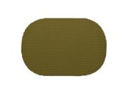 Fishnet Moss Oval Placemat Dz.