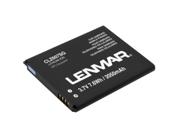 Lenmar Black 2100 mAh Fits Samsung Galaxy S III, NFC CLZ607SG