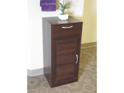Bathroom 1 louvered door/1 drawer base cabinet