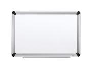 Porcelain Dry Erase Board 96 X 48 Elegant Aluminum Frame