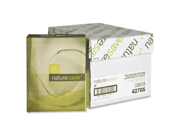 Recycled Paper 20 lb. GE 92 8 1 2 x11 10 RM CT White