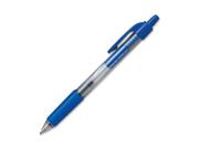 Gel Pen, Retractable, Comfort Grip, .7mm Point, Blue ITA30036