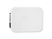 "SPR75620 Marker Board, Melamine Surface, 8-1/2""x11"", White"