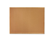 Cork Board 4 x3 Oak Frame