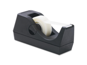 Tape Dispenser Holds 1 2 3 4 x36 Yds 1 Core Black
