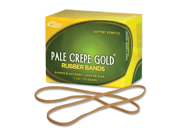 Alliance Rubber Pale Crepe Gold Rubber Band 75 EA/BX Type: Rubber Bands
