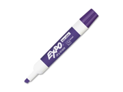 Expo Dry Erase Marker Chisel Marker Point Style Purple Ink 12 Dozen