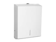 Genuine Joe GJO02197 Towel Dispensers- f-- Single-C-Fold-Multifold Towels- STST- WE