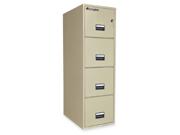 Sentry Safe Vertical Fire File Cabinet 1 EA