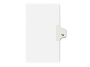 Kleer Fax OFS Index Dividers
