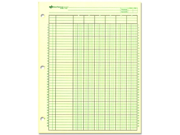 Rediform National Side Punched Analysis Pad 10 PD/BX