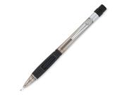 Pentel Quicker Clicker Mechanical Pencil #2, HB Pencil Grade - 0.7 mm Lead Size - Smoke Lead - Smoke Barrel - 1 Each