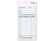 "Adams Dc3705 Carbonless Sales Order Books 50 Sheet(s) - 2 Part - 7.18"" X 3.34"" Sheet Size - Assorted - 1 Each"