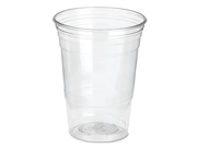 Dixie Foods CP16DXPK Crystal Clear Cup 16 oz. - 25 / Pack - Plastic – Clear, 1 Pack 9B-1KK-0009-00074
