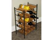 Wicker Wine Rack