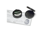 "Baumgartens 38010 Fingerprint Ink Pad 1.6"" x 1.6"" x 0.5"" - Black Ink"