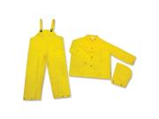 MCR Safety Three-piece Rain Suit 1 EA 9SIV1946SV5551