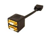 AddOn - Accessories VGA Video Splitter Cable - 2 Port - Male to Female/Female