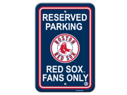 Boston Red Sox Plastic Parking Sign 9SIA00Y1029055