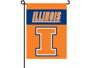 Illinois Fighting Illini 2-Sided Garden Flag