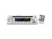 Pyle In-Dash Marine Receiver with Weather Band Information & USB/SD Card Readers