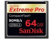SanDisk Extreme Pro Compact Flash CF 64GB 64G 90MB/s Memory Card