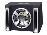 Lanzar - Vector 1000 Watts Single 10'' Slim Designed Bass Box Enclosure