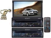 Legacy - 7'' Motorized Detachable Touch Screen TFT/LCD Monitor With DVD/CD/MP3/AM/FM Player (Refurbished)