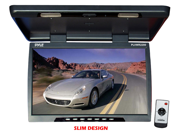 Pyle - 22'' Flip Down Roof Mount TFT LCD Monitor & IR Transmitter (Refurbished)