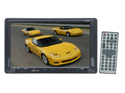 Lanzar - 7'' DOUBLE DIN TFT TOUCH SCREEN DVD/VCD/CD/MP3/MP4/CD-R/USB/SD-MMC CARD SLOT/AM/FM/BLUETOOTH (Refurbished)