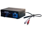 PyleHome - Mini 2X15 W Stereo Power Amplifier (Refurbished)