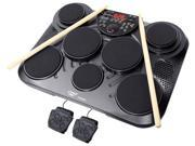 Electronic Table Digital Drum Kit Top w 7 Pad Digital Drum Kit
