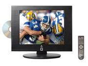 Pyle - 15'' Hi-Definition LCD Flat Panel TV w/ Built-In DVD Player