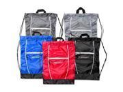 Trailmaker 18 Inch High Trails Drawstring Backpack     Case Pack  48
