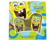 Spongebob Squarepants by Nickelodeon for Men - 2 Pc Gift Set 3.4oz EDT Spray, 8oz Body Wash 9SIA0SZ49M4989